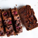 Double Chocolate Raspberry Loaf Recipe