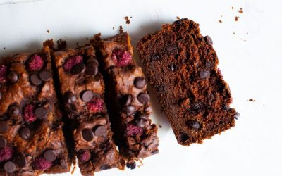Double Chocolate Raspberry Loaf