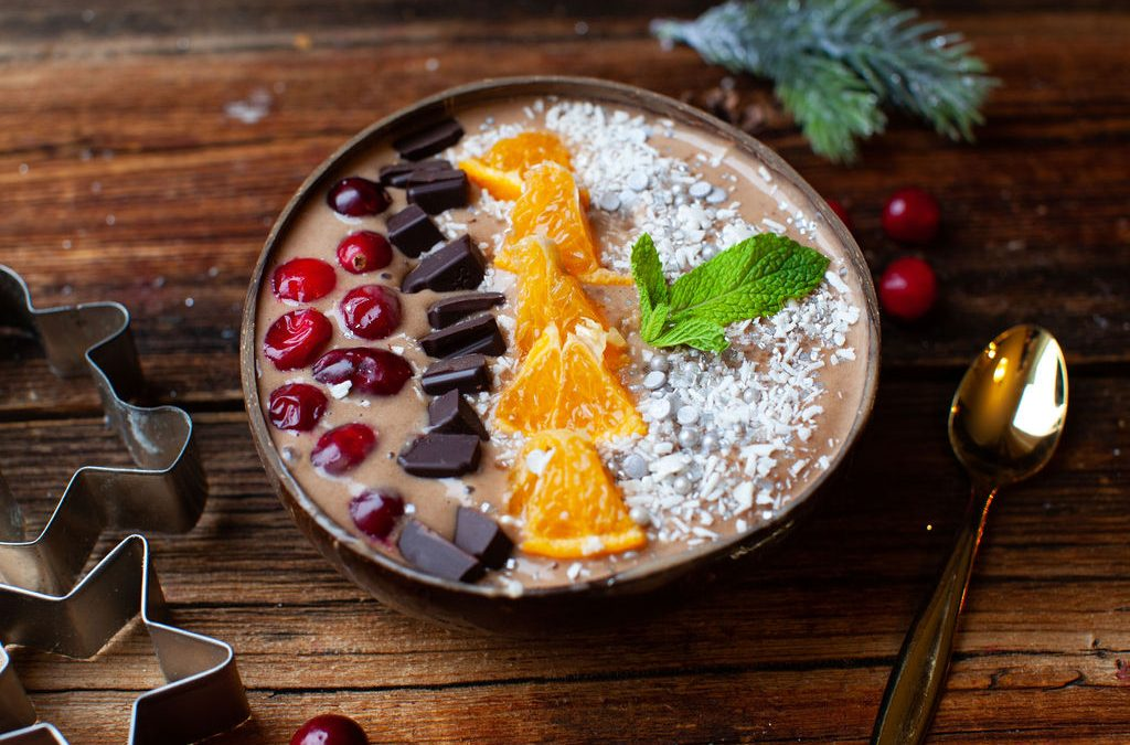 Chocolate Orange Smoothie Bowl