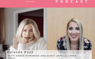 Episode # 227 With Guest Arielle Lorre exploring Addiction, Self-Sabotage and Body Image Struggles, Mindset, Binge Eating and Building Self-Worth and Navigating Social Media, Photoshopping and Judgement