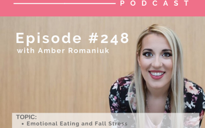 Episode #248 Emotional Eating and Fall Stress, How Poor Stress Management Makes You Reactionary and Ways to Reconnect With Your Mind and Body