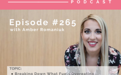 Episode #265 Breaking Down What Fuels Overeating, Innocent Habits That Fuel Overeating and Tips to Prevent Overeating